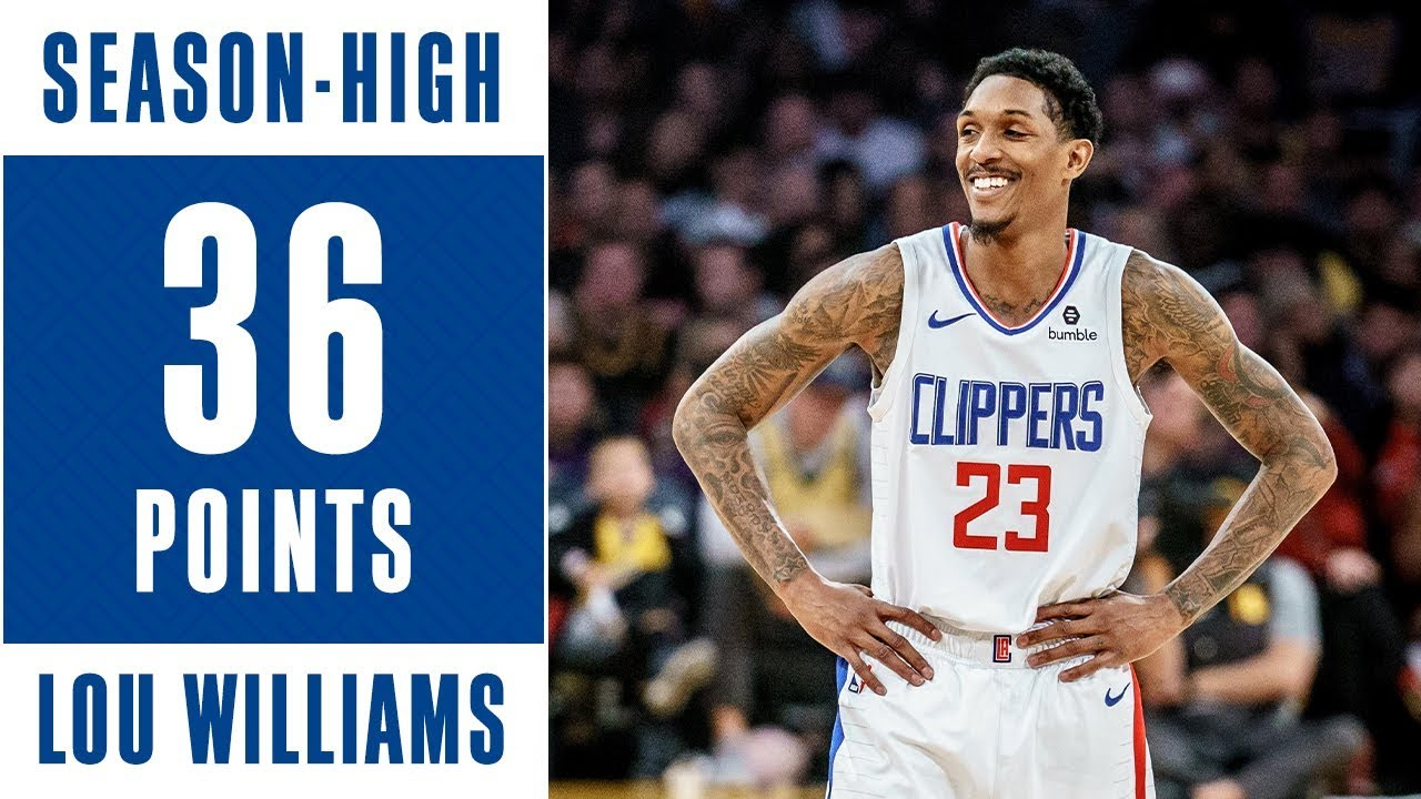 78051404a Lou Williams Scores Season-High at Lakers - YouTube