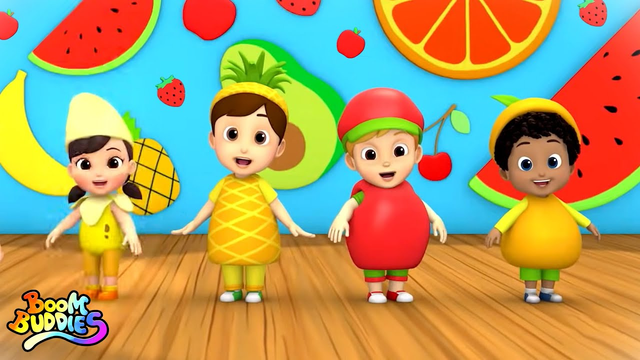 Fruits Song | Learn Fruits for Babies | Nursery Rhymes and Baby Song | Songs For Children