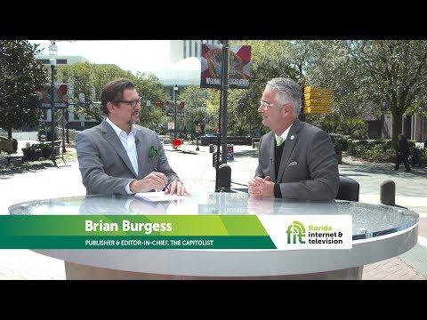 Political Pundit Brian Burgess Talks 2019 Session