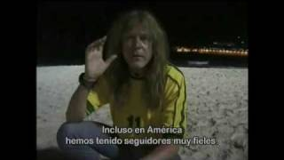 Janick Gers Relax Day (Subtitulos en español) - Iron Maiden Rock in Rio 2001