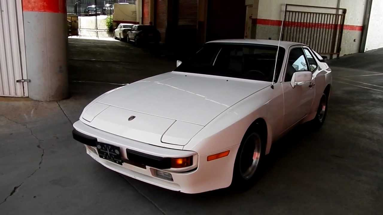 One Owner Car Guy >> 1 Owner 1984 Porsche 944s 944 S1 58k Orig Miles One Owner Car Guy