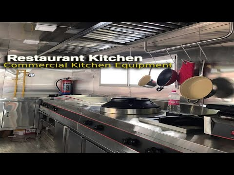 How To Set Up A RESTAURANT KITCHEN|Hotel Equipment Manufacturer In Pune|Commercial Kitchen Equipment