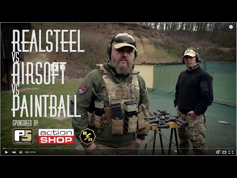 Whats Best? Airsoft Vs Paintball Vs Real Steel