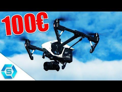 Top 5  BESTE KAMERA DROHNEN unter 100€ (2017)   Budget Quadcopter  