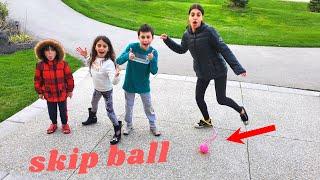 Skip Ball Challenge with HZHtube Kids Fun