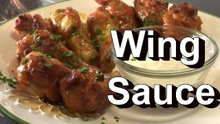 Hot Buffalo Wing Sauce Recipe  -  Use Your Peppers  :)  YUM!