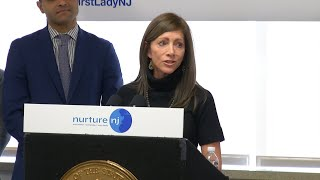 NJ first lady launches new campaign to help reduce maternal deaths