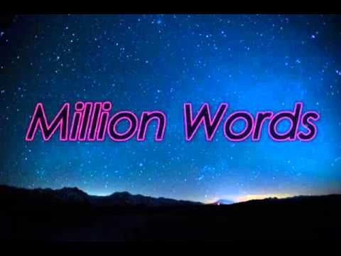 The Vamps - Million Words (Lyric video)