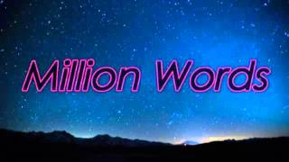 [2.73 MB] The Vamps - Million Words (Lyric video)