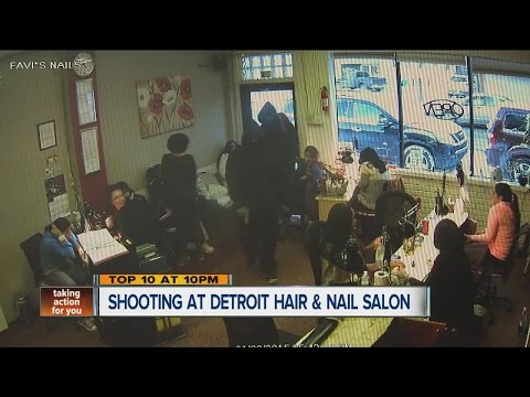Shooting at Detroit hair and nail salon