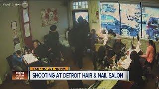 Shooting at Detroit hair and nail salon