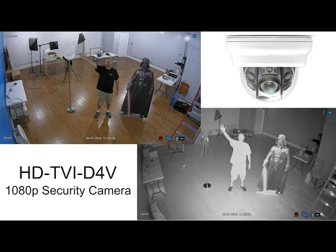 HD-TVI Security Camera 1080p Infrared Video Surveillance