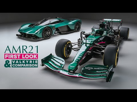 2021 Aston Martin F1 Car: FIRST LOOK, Valkyrie Comparison + NOISE | Carfection 4K