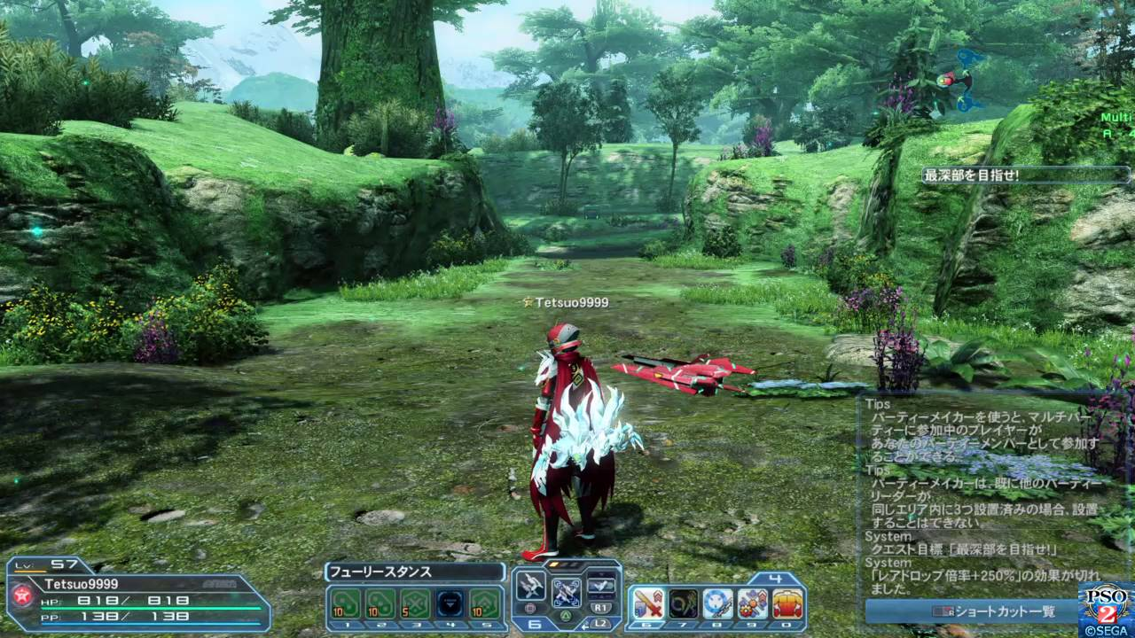 PSO2 - Palette/weapon switch buffering : Applications, utility and general  use