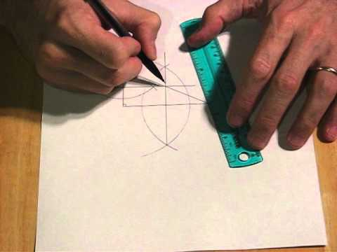 Geometry 13.1j - Constructing the Circumcircle of a Right Triangle