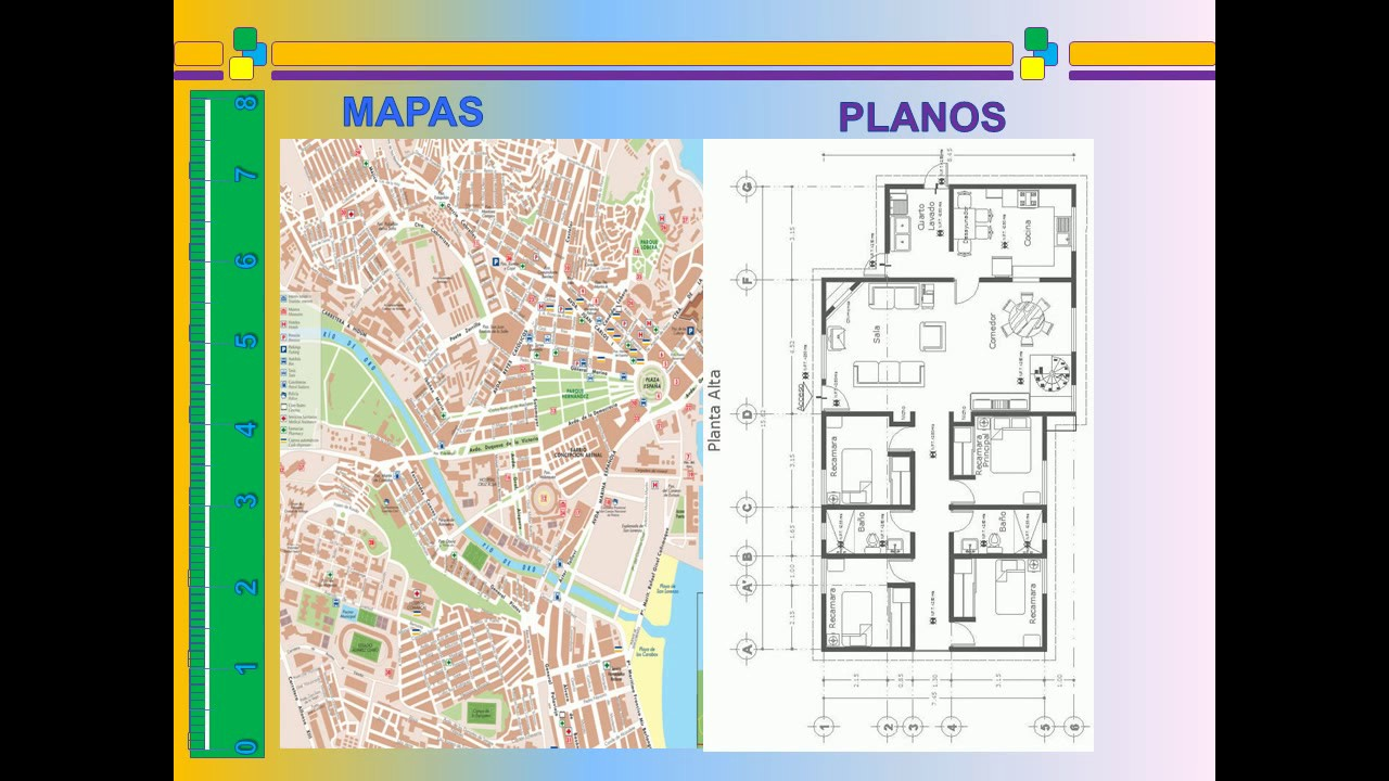 Mapas planos y escalas youtube for Plano de un vivero forestal