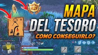 FORTNITE MISSION TREASURE MAP HOW TO GET TREASURE MISSION GUIDE (DIFFICULT)