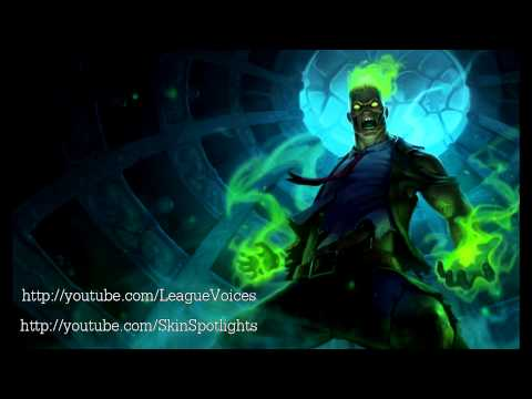 Zombie Brand Voice - English - League of Legends