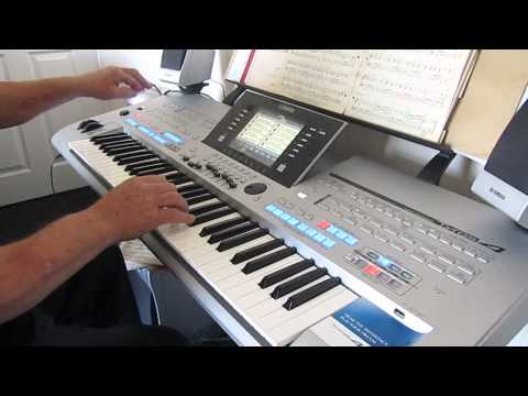 """ORGAN CHA CHA """" WHEELS """", PLAYED ON THE TYROS 4 BY ROGER DIEHL"""