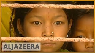Young Nepalese girls become sex slaves