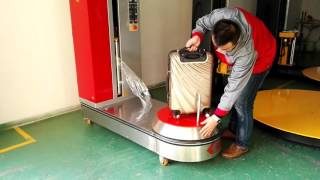 (Yupack)LP600F-L airport luggage wrapping machine