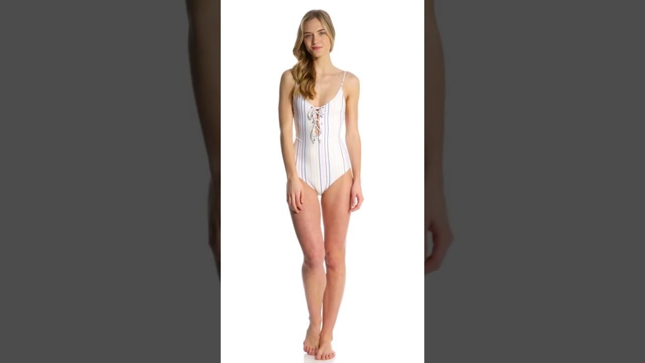 9c6447f7e28b Tavik Horizon Stripe Monahan One Piece Swimsuit | SwimOutlet.com ...
