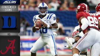 Duke vs. Alabama Condensed Game | ACC Football 2019-20