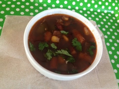 Mexican Veggie Soup Recipe