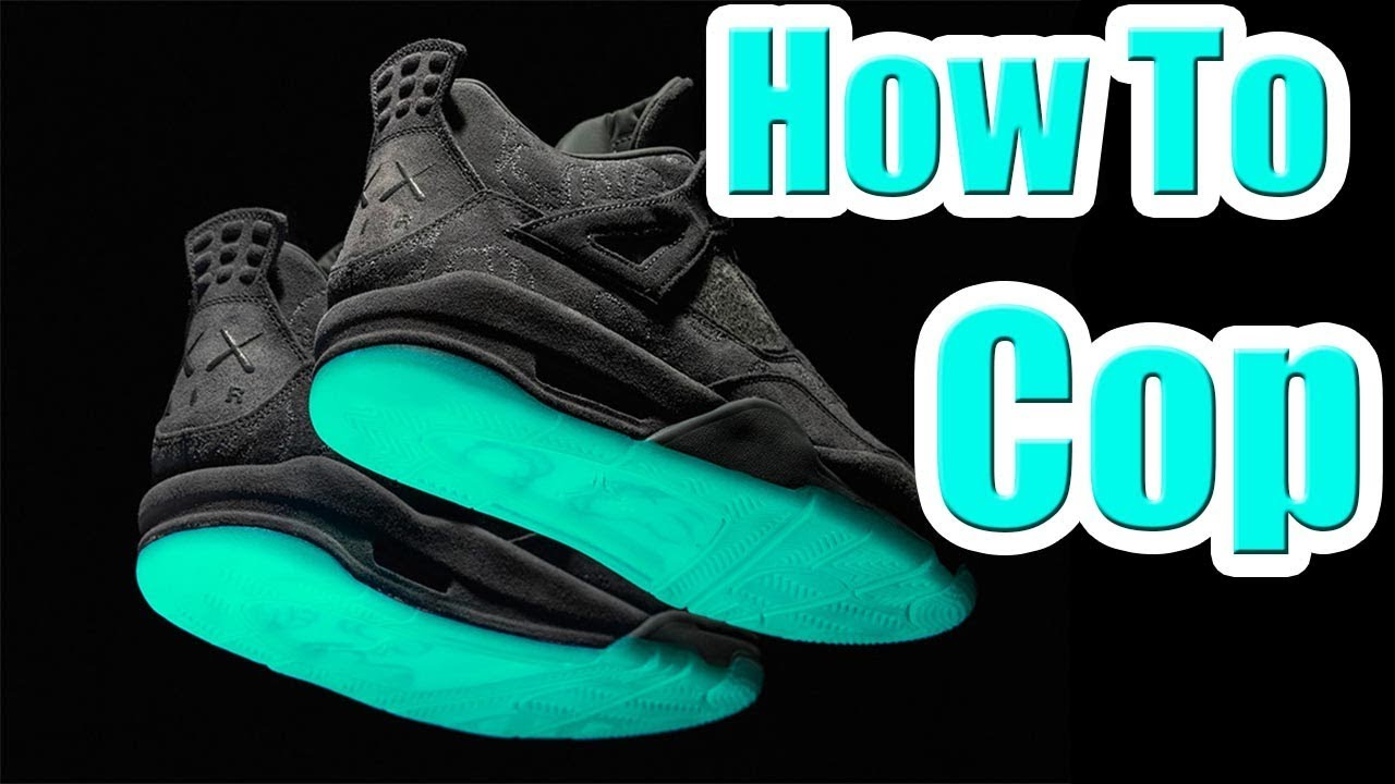 483e342f4e39 How To Get The KAWS JORDAN 4 !!! In Depth HOW TO COP Guide - YouTube