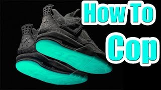 How To Get The KAWS JORDAN 4 !!! In Depth HOW TO COP Guide This is ...