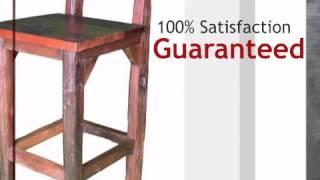 Espresso Bar Chair - Lonestarwesterndecor.com