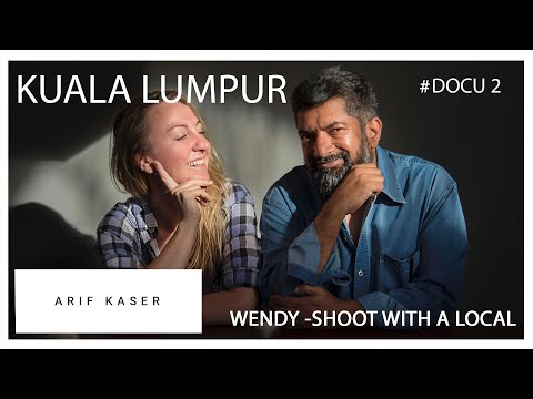 FULL VIDEO: KLM stewardess Wendy meets photographer Arif Kaser in Kuala Lumpur, Malaysia
