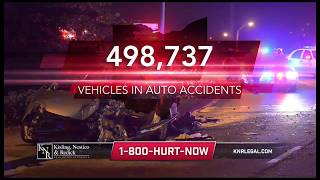 500k Vehicles Involved in Ohio Auto Accidents (10s) | Hurt In A Car...Call KNR!