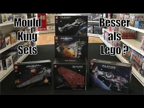 5 weitere große Mould King Sets! Bessere Lego Star Wars UCS Sets? Leider einige geklaute Mocs!