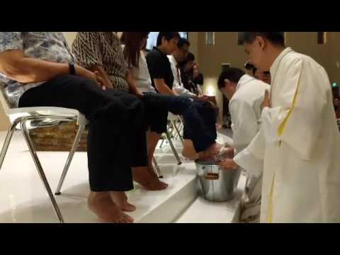 Maundy Thursday at the Church of the Transfiguration Pt 2
