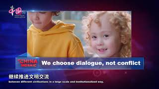 We choose dialogue, not conflict