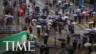 hong-kong-protests-show-sign-flagging-large-crowds-rally-democracy-time