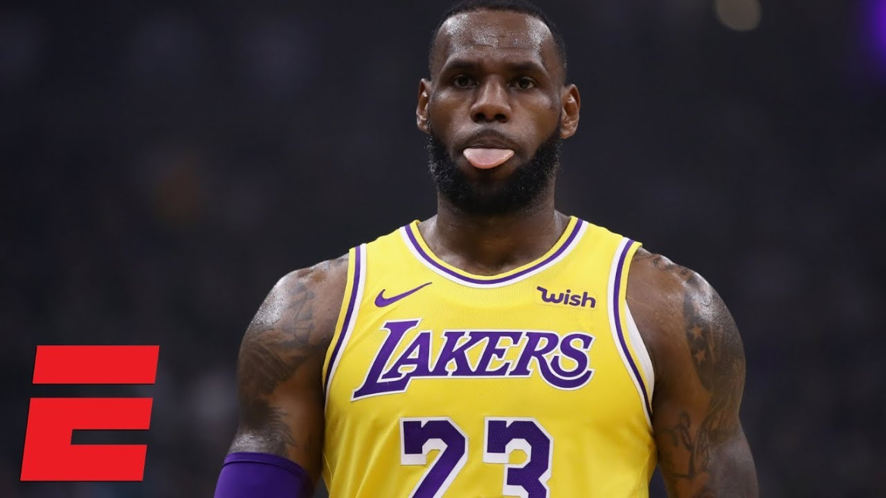 LeBron James and the Lakers cruise to a 101-86 victory vs ... Lebron James Yelling Vs Lakers