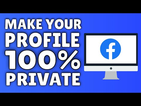 How To Make Facebook Private | Make Your Facebook Profile COMPLETELY ...