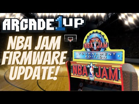 Arcade1UP NBA Jam Firmware Coming Soon!  The Badge of Shame! from PDubs Arcade Loft