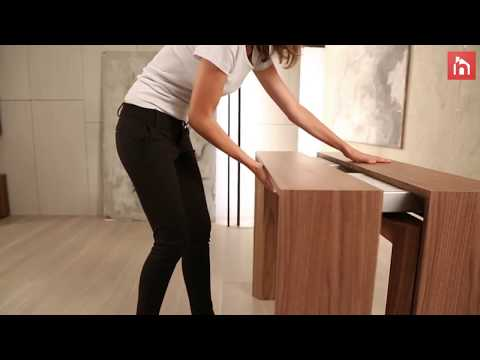 Expandable Table  - Furniture Ideas With Genius Designs