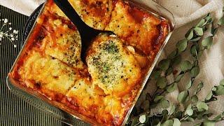 【レシピ】重ねるだけ!簡単ジャガイモラザニアの作り方