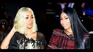 Cardi B Responds to a Nicki Minaj Fans who says She's Mad that she got EXPOSED for having a WRITER