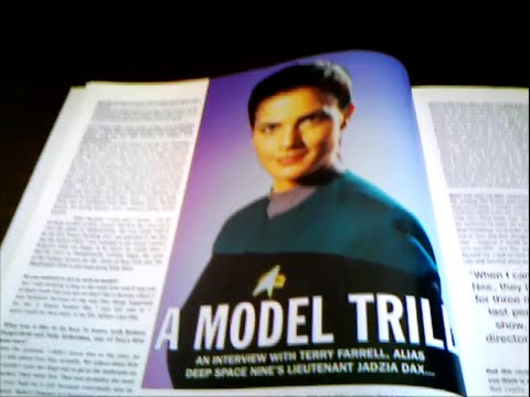 Terry Farrell Candid Dreamwatch 1995 March