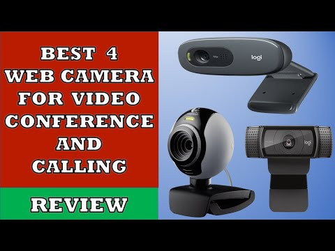 Best 4 Web Camera For Video Calling And Conferencing - Review