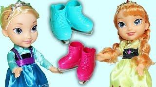 Frozen Karlar ülkesi Prenses Anna ve Kraliçe Elsa Oyuncak Tanıtımı | EvcilikTV