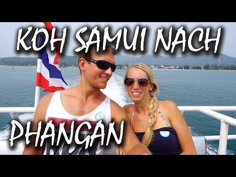 Koh Samui nach Koh Phangan per Fähre – Thailand | VLOG #22
