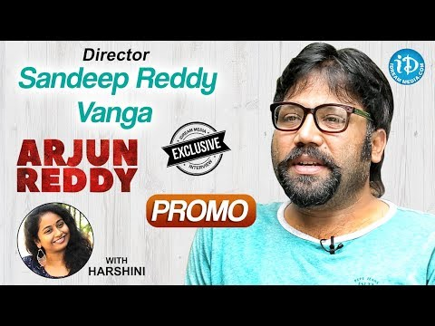 Arjun Reddy Movie Director Sandeep Reddy Vanga Interview - Promo || Talking Movies With iDream