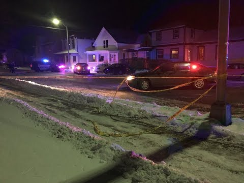 Racine police investigate officer-involved shooting.