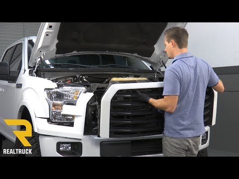 How to Remove the Factory Front Bumper on a 2015 Ford F-150